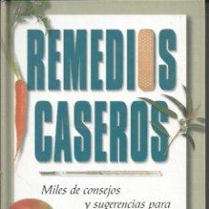Libros de segunda mano: REMEDIOS CASEROS. CIRCULO DE LECTORES.. Lote 157850310