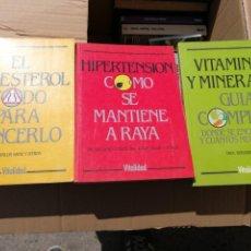 Libros de segunda mano - HIPERTENSIÓN. CÓMO SE MANTIENE A RAYA - LUCIANO CANDEL Y JORGE SALVA Y OTROS - 157867878