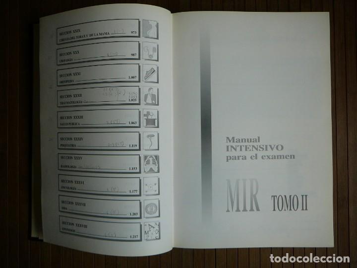 Libros de segunda mano: Manual intensivo para el examen MIR. Tomo II Editorial Luzán 5 1993. Jaime Baladrón Romero y varios. - Foto 15 - 157982774