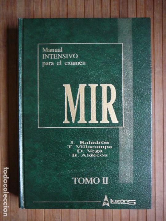 Libros de segunda mano: Manual intensivo para el examen MIR. Tomo II Editorial Luzán 5 1993. Jaime Baladrón Romero y varios. - Foto 31 - 157982774