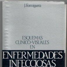 Libros de segunda mano: ESQUEMAS CLÍNICO VISUALES EN ENFERMEDADES INFECCIOSAS, J. FERMIGUERA. Lote 157997641