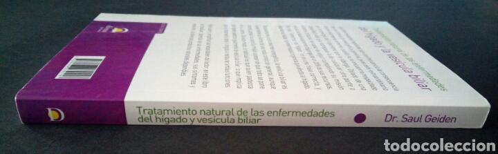 Libros de segunda mano: CTC - TRATAMIENTO NATURAL DE LAS ENFERMEDADES DEL HIGADO Y LA VESICULA BILIAR - GEIDEN - DILEMA - Foto 3 - 158617334