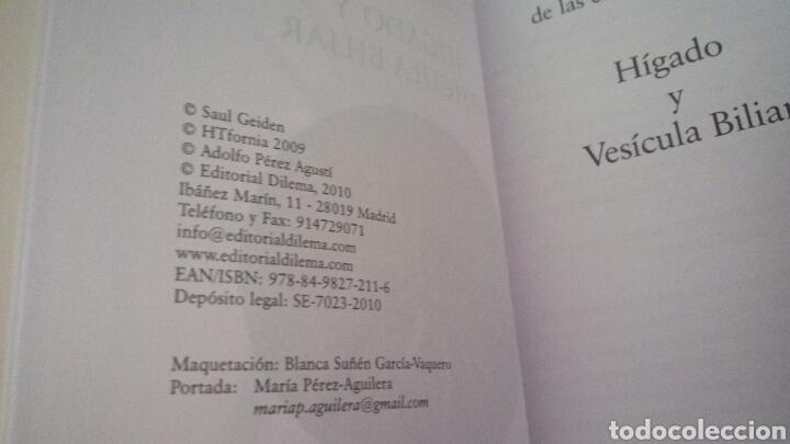 Libros de segunda mano: CTC - TRATAMIENTO NATURAL DE LAS ENFERMEDADES DEL HIGADO Y LA VESICULA BILIAR - GEIDEN - DILEMA - Foto 5 - 158617334