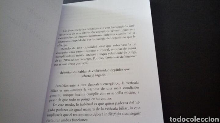 Libros de segunda mano: CTC - TRATAMIENTO NATURAL DE LAS ENFERMEDADES DEL HIGADO Y LA VESICULA BILIAR - GEIDEN - DILEMA - Foto 7 - 158617334