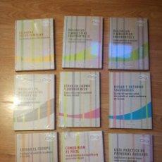 Libros de segunda mano: 9 LIBROS DE LA COLECCIÓN HABLEMOS DE SALUD. Lote 158738818