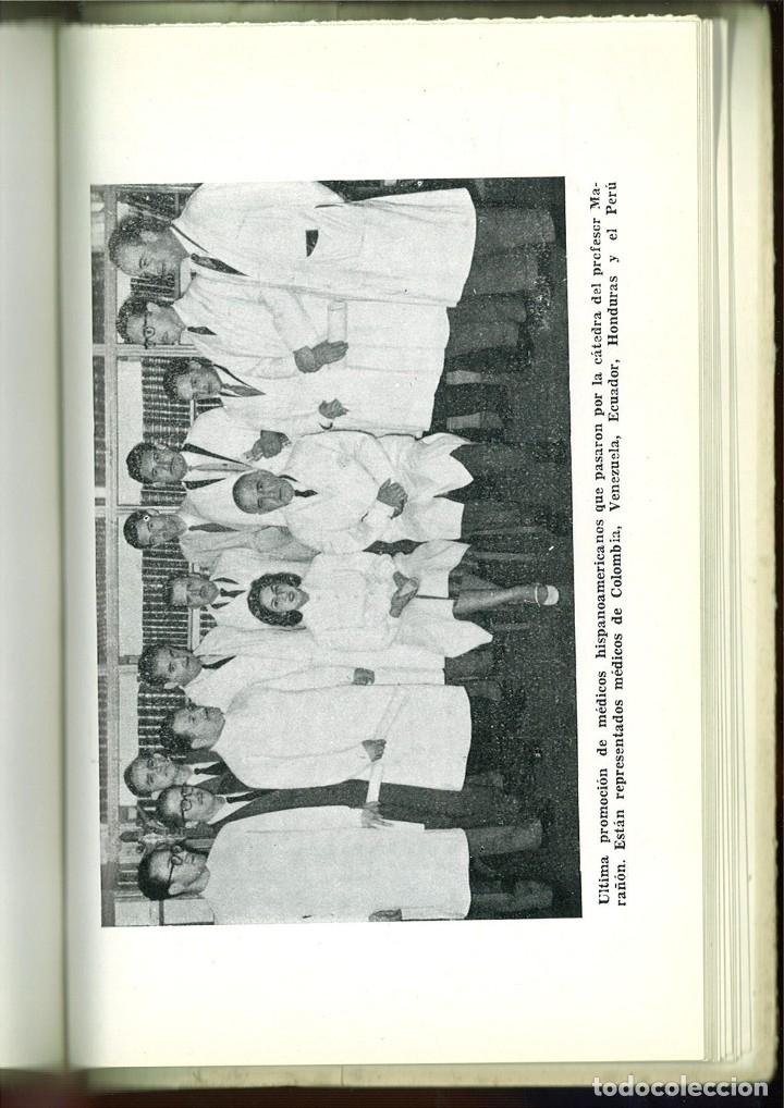 Libros de segunda mano: MARAÑÓN Y SU OBRA EN LA MEDICINA. Vicente Pozuelo Escudero - Foto 2 - 92801535