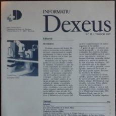 Libros de segunda mano: FASCÍCULO FARMACÉUTICO N°12 INFORMATIU DEXEUS 1987. Lote 159683705