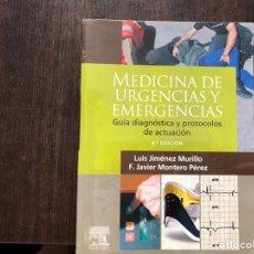 Libros de segunda mano: MEDICINA DE URGENCIAS Y EMERGENCIAS. LUIS JIMÉNEZ. Lote 160349477