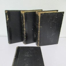 Libros de segunda mano: TRATADO DE ANATOMIA HUMANA. L TESTOT. A. LATARJET. TOMO I-II-III-IV. COMPLETA. SALVAT 1951. . Lote 160579222