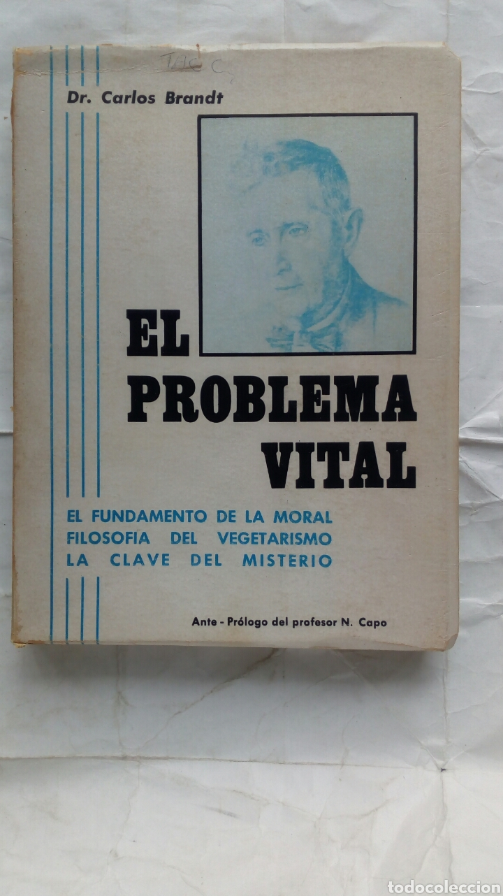 EL PROBLEMA VITAL. DR. CARLOS BRANDT. (Libros de Segunda Mano - Ciencias, Manuales y Oficios - Medicina, Farmacia y Salud)