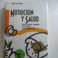 Libri di seconda mano: NUTRICIÓN Y SALUD. GRANDE COVIÁN. PRECINTADO. Lote 161355258