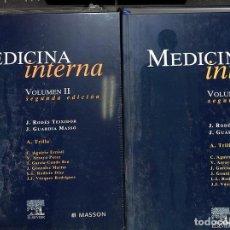 Libros de segunda mano: MEDICINA INTERNA VOLUMEN I Y II. Lote 162727324
