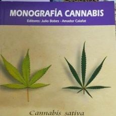Libros de segunda mano: MONOGRAFIA CANNABIS. ADICCIONES. Lote 162737408