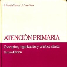 Libros de segunda mano: ATENCIÓN PRIMARIA. Lote 162742762