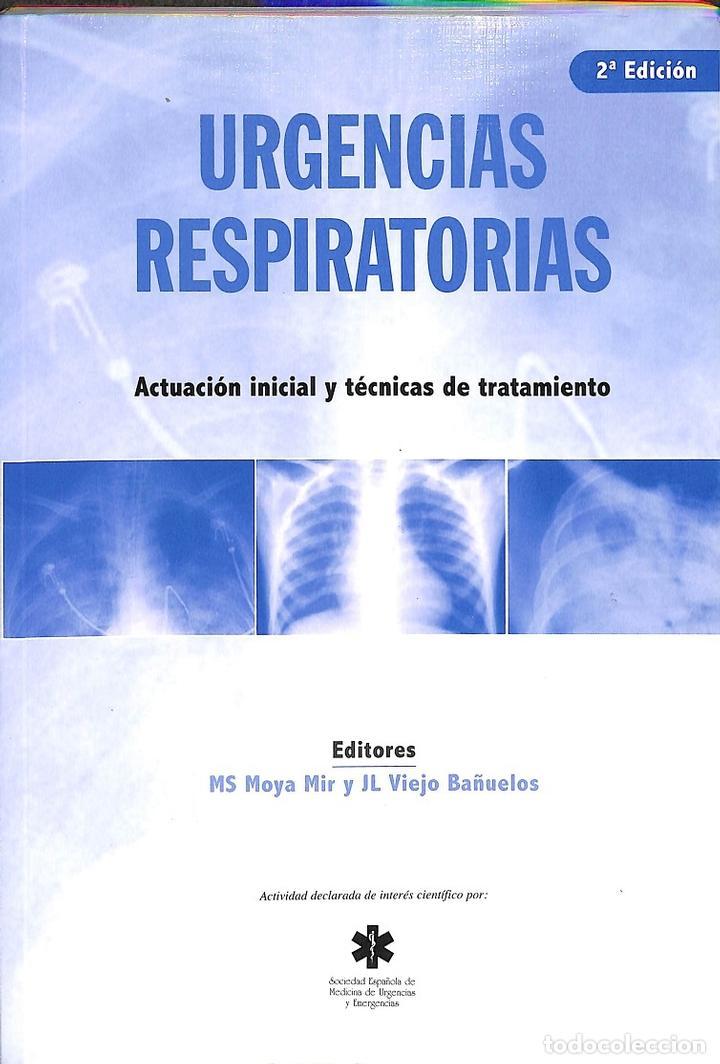URGENCIAS RESPIRATORIAS (Libros de Segunda Mano - Ciencias, Manuales y Oficios - Medicina, Farmacia y Salud)