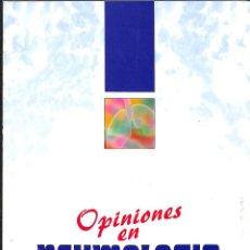 Libros de segunda mano: OPINIONES EN NEUMOLOGIA INFECCIONES RESPIRATORIAS. Lote 162742838