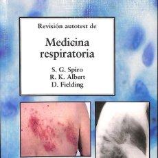 Libros de segunda mano: MEDICINA RESPIRATORIA. Lote 162751625