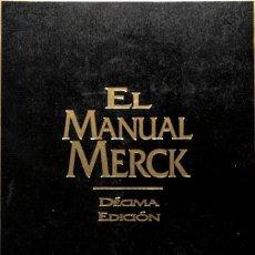 Libros de segunda mano: EL MANUAL MERCK DE DIAGNÓSTICO Y TERAPEÚTICA. Lote 162753946