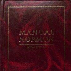 Libros de segunda mano: MANUAL NORMON. Lote 162753712