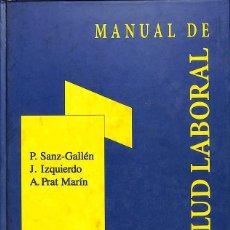 Libros de segunda mano: MANUAL DE SALUD LABORAL.. Lote 162753942
