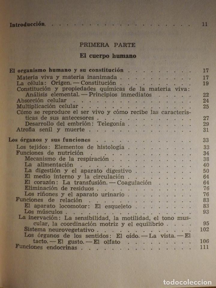 Libros de segunda mano: Tu cuerpo y tu salud - F. Goust - Ediciones Daymon - 1958 - Con decenas de láminas - Foto 3 - 162988618