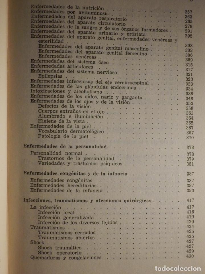 Libros de segunda mano: Tu cuerpo y tu salud - F. Goust - Ediciones Daymon - 1958 - Con decenas de láminas - Foto 5 - 162988618