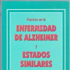 Libros de segunda mano: ENFERMEDAD DE ALZHEIMER Y ESTADOS SIMILARES. J.C. EDICIONES MÉDICAS. 1998.. Lote 163077442