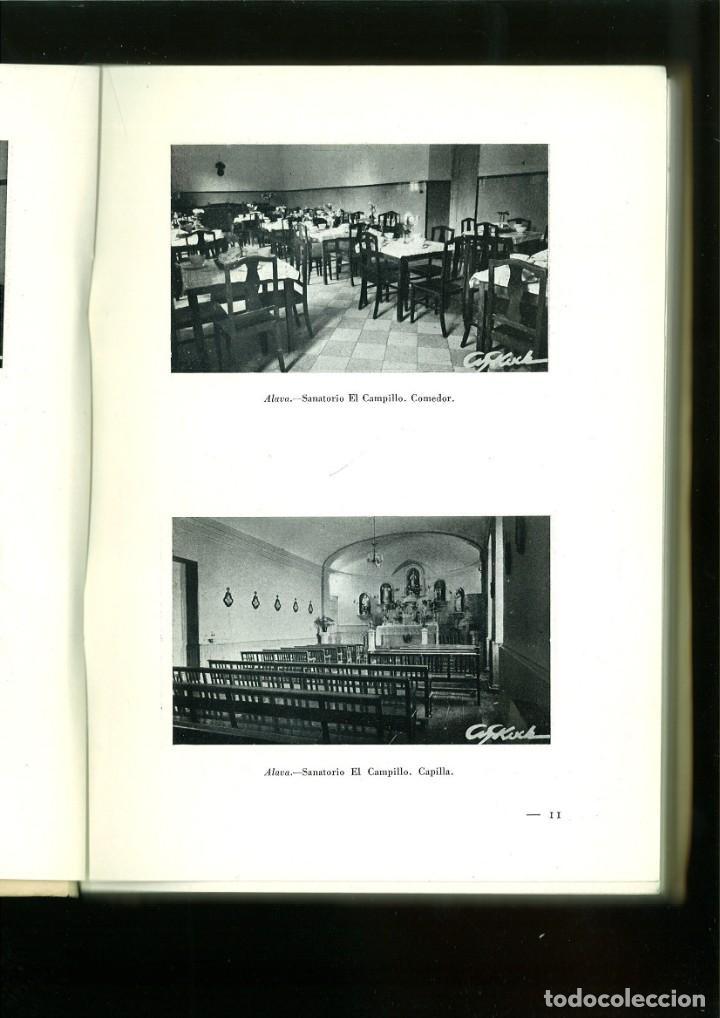 Libros de segunda mano: LABOR DEL PATRONATO NACIONAL ANTITUBERCULOSO DURANTE EL ÚLTIMO DECENIO. - Foto 3 - 163397958
