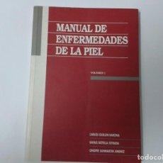 Libros de segunda mano: MANUAL DE ENFERMEDADES DE LA PIEL (2 VOLUMENES) - C. GUILLEN Y OTROS - JANSSEN RESEARCH. Lote 163509674