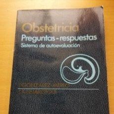 Libros de segunda mano: OBSTETRICIA. PREGUNTAS - RESPUESTAS. SISTEMA DE AUTOEVALUACIÓN (SALVAT). Lote 163591598