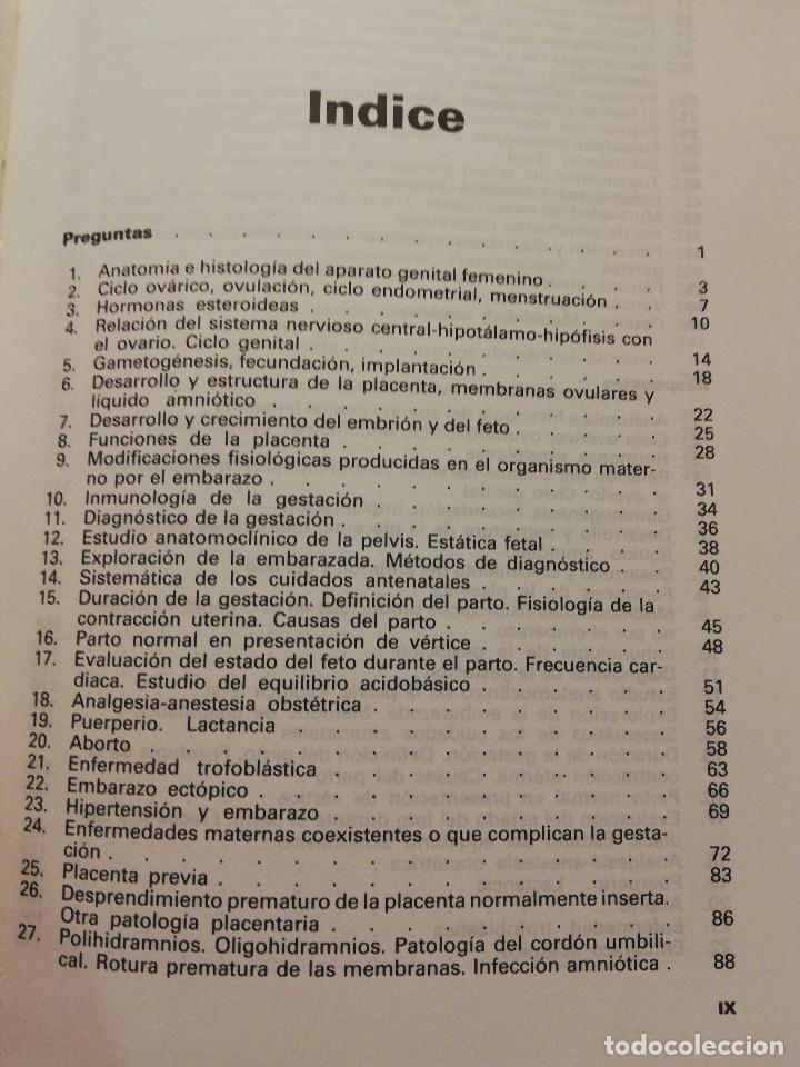 Libros de segunda mano: OBSTETRICIA. PREGUNTAS - RESPUESTAS. SISTEMA DE AUTOEVALUACIÓN (SALVAT) - Foto 4 - 163591598