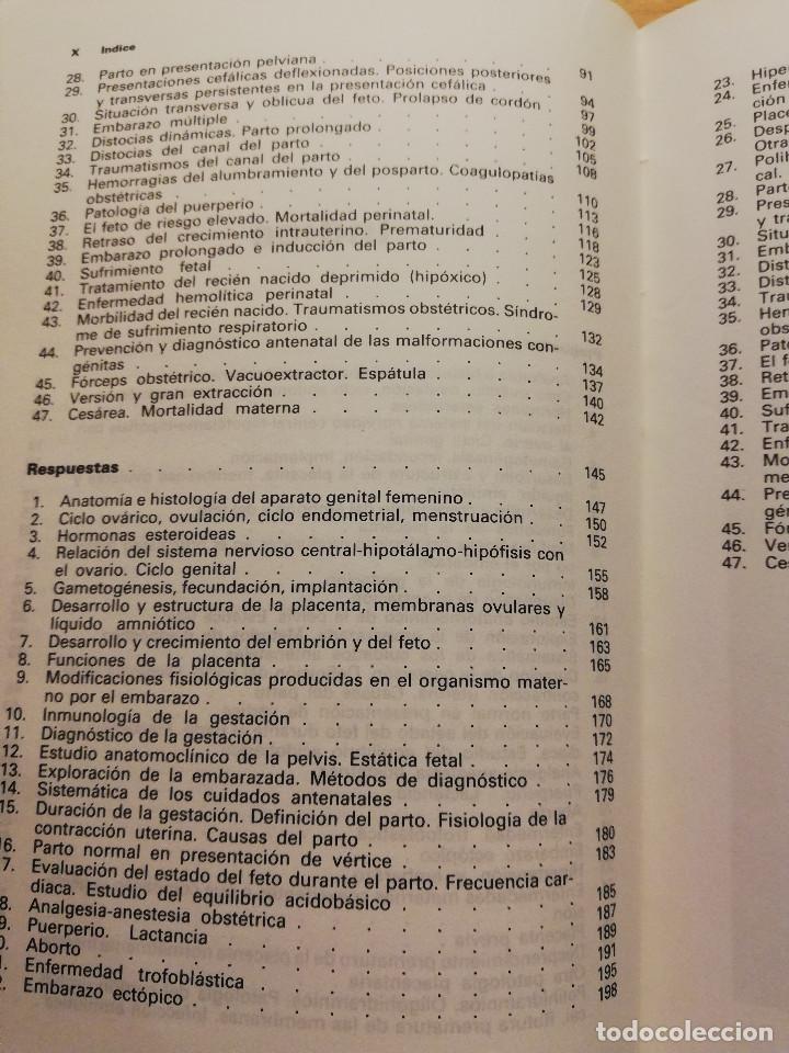 Libros de segunda mano: OBSTETRICIA. PREGUNTAS - RESPUESTAS. SISTEMA DE AUTOEVALUACIÓN (SALVAT) - Foto 5 - 163591598