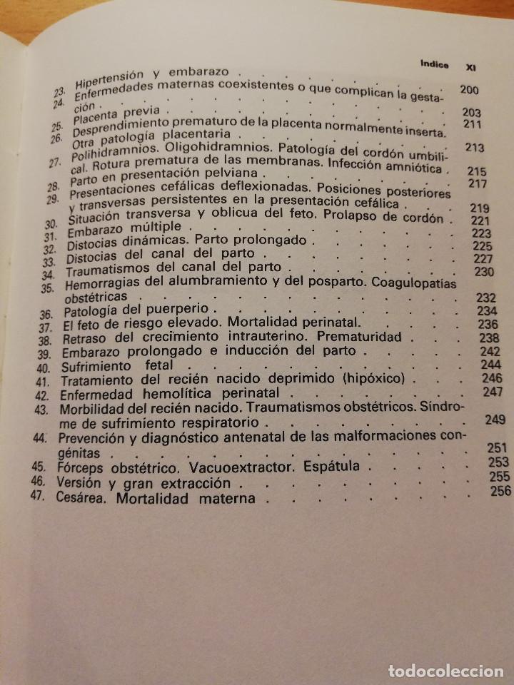 Libros de segunda mano: OBSTETRICIA. PREGUNTAS - RESPUESTAS. SISTEMA DE AUTOEVALUACIÓN (SALVAT) - Foto 6 - 163591598
