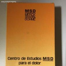Libros de segunda mano: 2 LIBROS ESPECIAL MEDICINA DEL DOLOR: DOLOR LUMBAR Y CEFALEAS. Lote 163858558