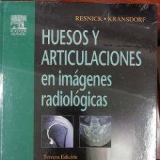 Libros de segunda mano: HUESOS Y ARTICULACIONES EN IMÁGENES RADIOLÓGICAS. Lote 164207398