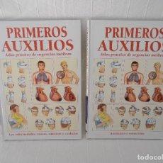 Libros de segunda mano: ATLAS URGENCIAS PRIMEROS AUXILIOS - 2 LIBROS. Lote 164731470