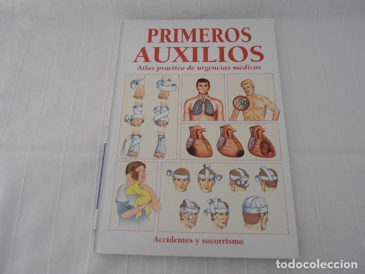 Libros de segunda mano: ATLAS URGENCIAS PRIMEROS AUXILIOS - 2 libros - Foto 3 - 164731470