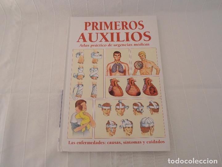 Libros de segunda mano: ATLAS URGENCIAS PRIMEROS AUXILIOS - 2 libros - Foto 5 - 164731470