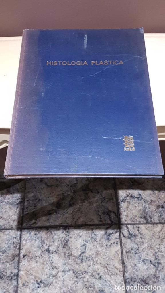ATLAS DE HISTOLOGÍA PLÁSTICA, ROMAN HIPPÉLI, FHER, BARCELONA 1967, 24 LÁMINAS, 32 POR 40CM (Libros de Segunda Mano - Ciencias, Manuales y Oficios - Medicina, Farmacia y Salud)