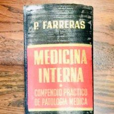 Libros de segunda mano: LIBRO MEDICINA INTERNA PATOLOGÍA MÉDICA. Lote 164914598