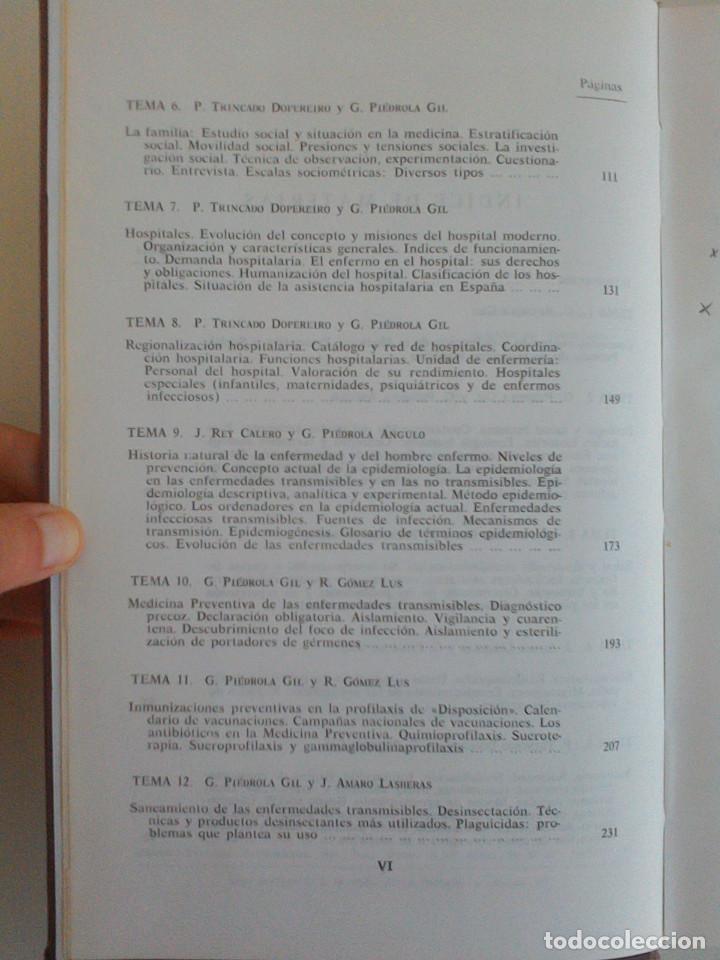 Libros de segunda mano: MEDICINA PREVENTIVA Y SOCIAL.HIGIENE Y SANIDAD AMBIENTAL.TOMO I. G. PIEDROLA GIL, G. PIEDROLA ANGULO - Foto 8 - 165283554