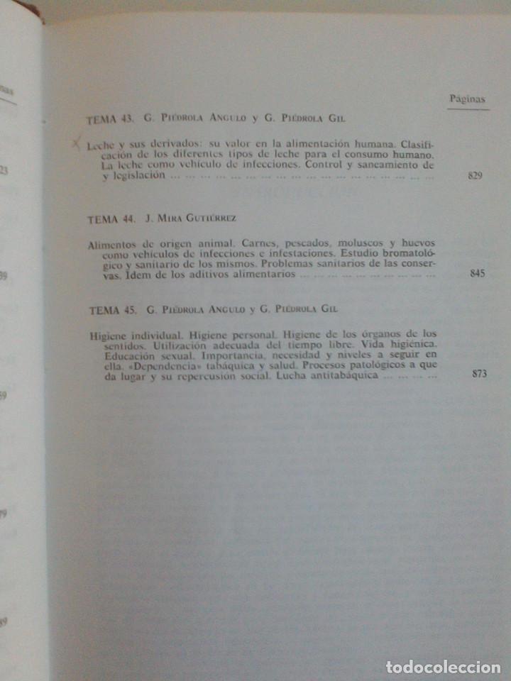 Libros de segunda mano: MEDICINA PREVENTIVA Y SOCIAL.HIGIENE Y SANIDAD AMBIENTAL.TOMO I. G. PIEDROLA GIL, G. PIEDROLA ANGULO - Foto 13 - 165283554
