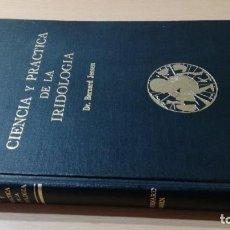 Libros de segunda mano: CIENCIA Y PRACTICA DE LA IRIDOLOGIA/ BERNARD JENSEN/ ED YUG/ HOMEOPATIA NATURISMO/ H304. Lote 165368810