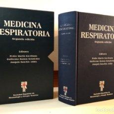 Libros de segunda mano: MEDICINA RESPIRATORIA. EN SU ESTUCHE. VV.AA. 2005. 2º ED. ACTUALIZ. ISBN 8478854010. Lote 165201850