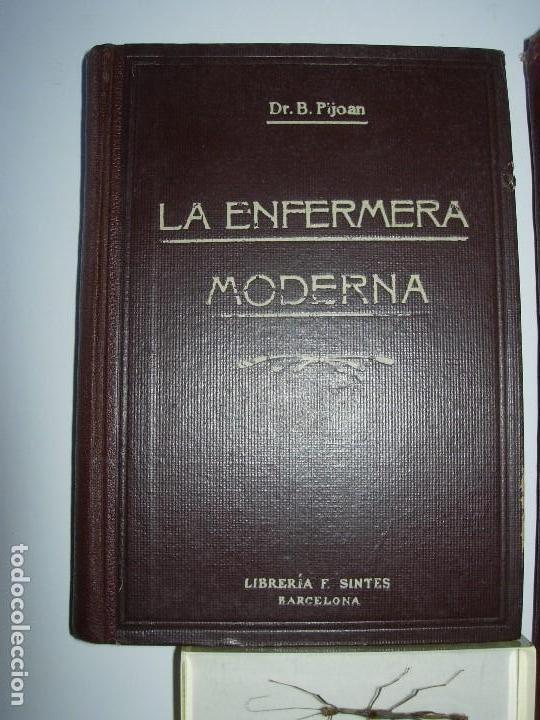 Libros de segunda mano: LA ENFERMERA MODERNA LA ENFERMERA ESPAÑOLA - Foto 2 - 165935098