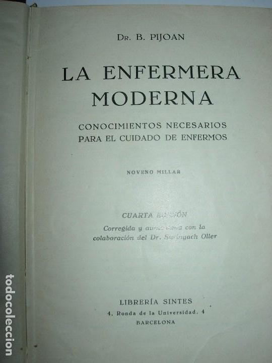Libros de segunda mano: LA ENFERMERA MODERNA LA ENFERMERA ESPAÑOLA - Foto 4 - 165935098