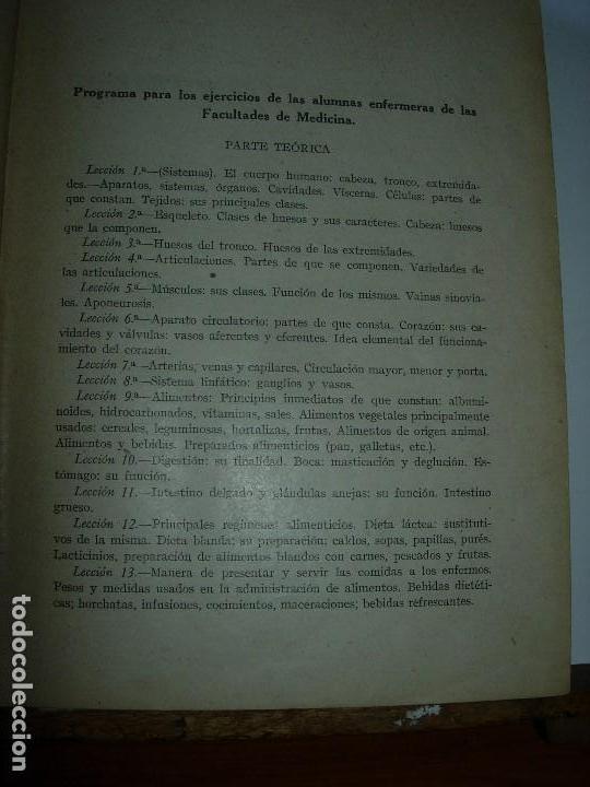 Libros de segunda mano: LA ENFERMERA MODERNA LA ENFERMERA ESPAÑOLA - Foto 7 - 165935098