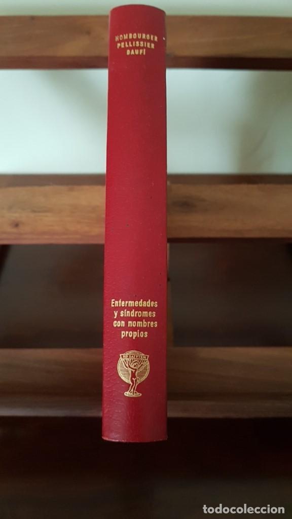 Libros de segunda mano: ENFERMEDADES Y SÍNDROMES CON NOMBRES PROPIOS: DICCIONARIO DE EPÓNIMOS CLÍNICOS 1968, 1ª EDICION. - Foto 2 - 166123014
