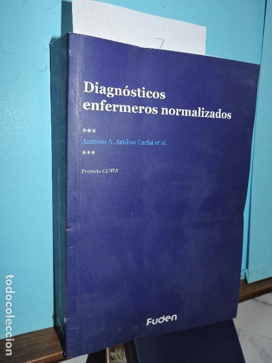 DIAGNÓSTICOS ENFERMEROS NORMALIZADOS. ARRIBAS CACHÁ, ANTONIO. PROYECTO CENES. ED. FUDEN. MADRID 2012 (Libros de Segunda Mano - Ciencias, Manuales y Oficios - Medicina, Farmacia y Salud)