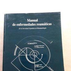 Libros de segunda mano: MANUAL DE ENFERMEDADES REUMATICAS DE LA SOCIEDAD ESPAÑOLA DE REUMATOLOGÍA. Lote 166682410